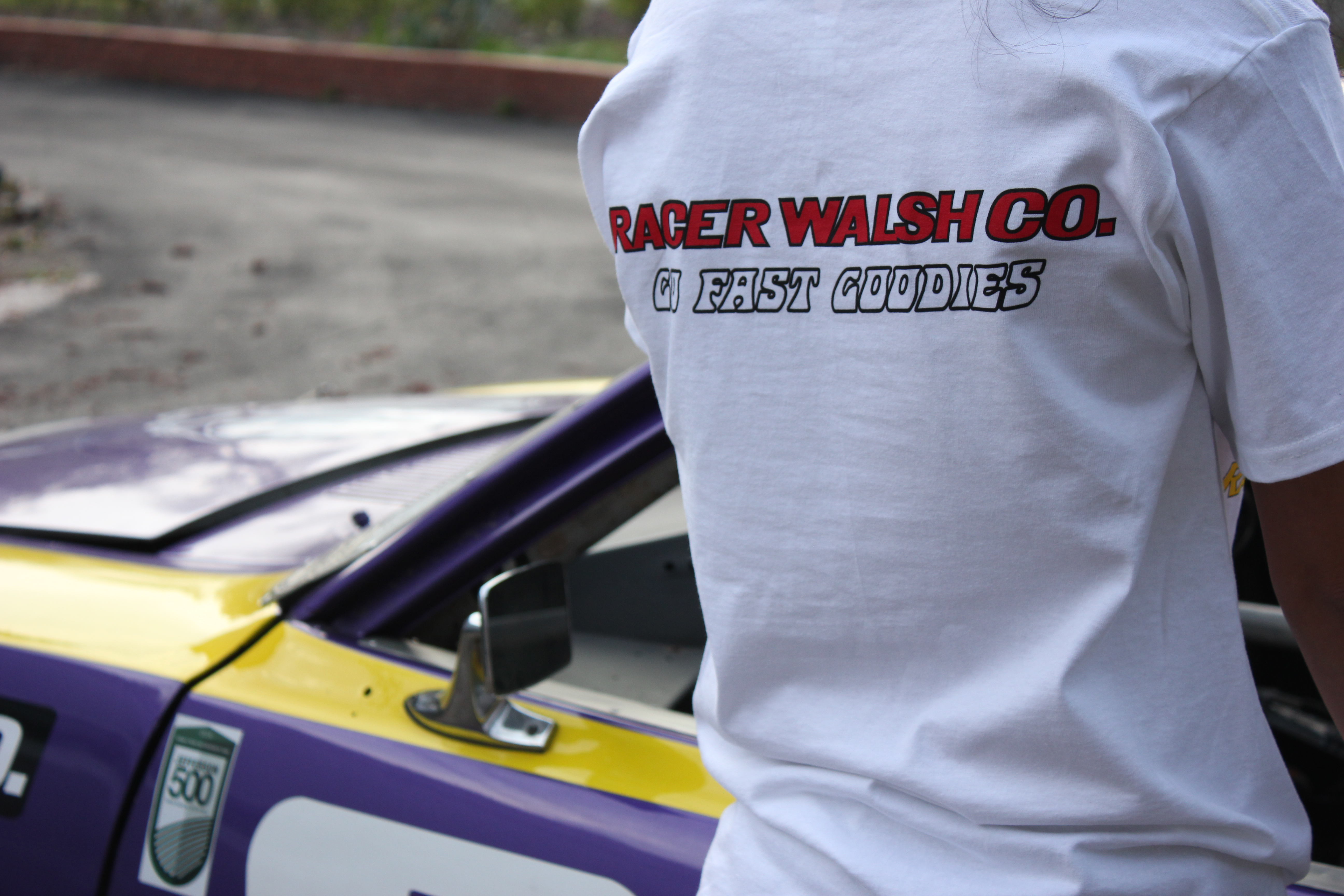 Racer Walsh Co. Goodies