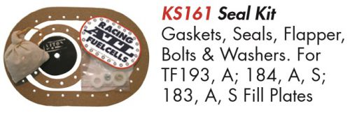 ATL FUEL CELLS KS161 SEAL KIT W//GASKETS