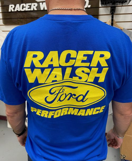 Racer Walsh Apparel